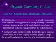 Distillation Power Point