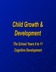 CHDV 141 School Age Years Cognitive Development(1).pdf