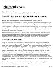 Prinz Morality is a Culturally Conditioned Response.pdf