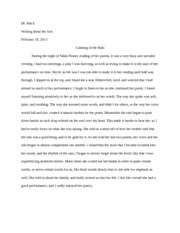 Writing about the arts3