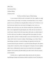 Joffrey Zhou Research Paper