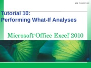 Excel 2010.10