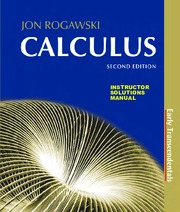 Rogawski - Calculus Early Transcendentals 2nd c2012 solutions ISM