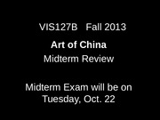 Midterm Exam Review-Fall 2013