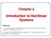 MAEG5725_Chapter 6 Nonlinear System