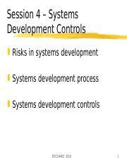 04 - System Development Controls.ppt