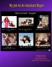 Assitant Buyer Powerpoint.odp