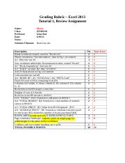 Myers T1_Excel2013_Review_Rubric