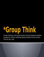 Group Think Powerpoint.pptx