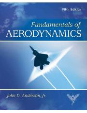 John D. Anderson Jr, Fundamentals of Aerodynamics, McGraw-Hill