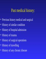 4-Past history family history and social history.ppt