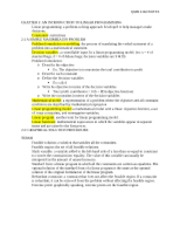 OMB 2102 NOTES CH. 2