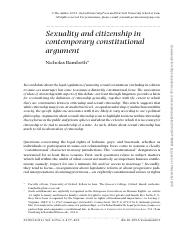 sexuality and citizenship in.pdf