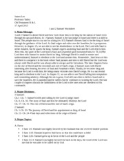 Samuel Worksheet