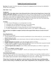 English 1B Second Formal Essay Prompt(2)-2