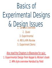 Basics of Experimental Designs BB NOTES.pptx