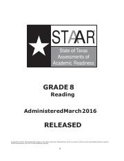 Gr 8 Reading - The Election.pdf - STAAR State of Texas ...