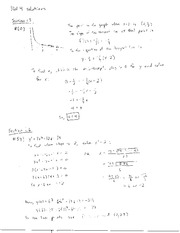 Homework 4 Questions and Solutions