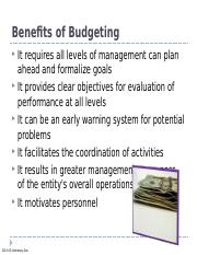 Chapter 21 Budgeting.ppt
