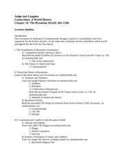 Lecture Outline Chapter 10