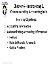 Ch6 – Accounting Info