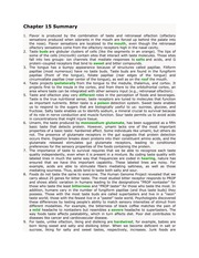 Psychology 214_Maier_Lecture Notes on Taste