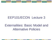EEP101_Lecture 3 Basic model