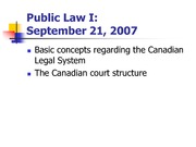 POLS 3135 Lecture 2 2007