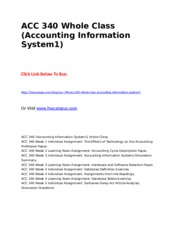 ACC 340 Whole Class (Accounting Information System1).doc