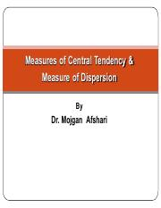 measures of central tendency & Measure of dispersion.pdf