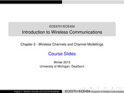 02-Wireless Channels and Channel Modellings