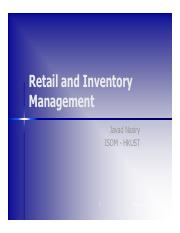 04-Retail and Inventory Management
