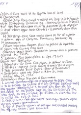American Politics Chapter 2 in class notes cont.