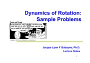 Phy11 Lec02_Problem Solving Exercises