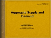 5 - Aggregate Demand and Supply_Sessions 9 & 10