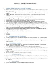 ADV 319 Chapter 16 Texbook Outline