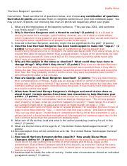 harrison bergeron dqs elizabeth cotton harrison bergeron rh coursehero com harrison bergeron active reading guide worksheet answers