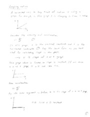 Physics 151 Notes 9-13-12