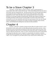 To be a Slave Chapter 3.docx