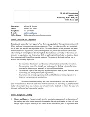 Negotiations Syllabus Spring 2015 - OB448