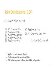 23 Joint Distributions CDF PDF PMF.pptx