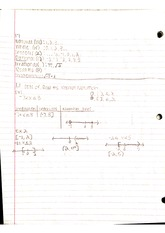 interval notation and absolute value notes