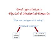 Chapter 2_Bond type relation to