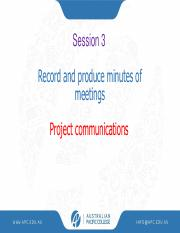 Session 3 & 4 Record and produce minutes.pdf