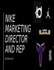 Nike Career PowerPoint
