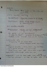 Crime Theories Notes