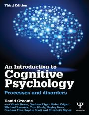 An Introduction to Cognitive Psychology 3rd ed [2014].pdf