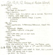 H. of Muslim World ch 10-12