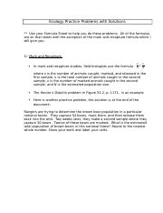 Ecology Practice Problems with Solutions.docx