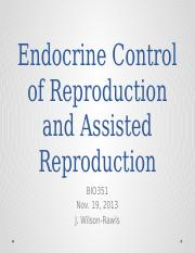 Assisted Reproduction 2013